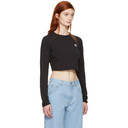 adidas Originals Black Cropped Styling Complements T-Shirt