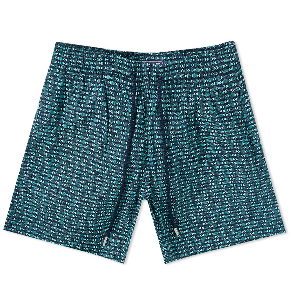 Photo: Vilebrequin Moorise Geometric Fish Print Swim Short