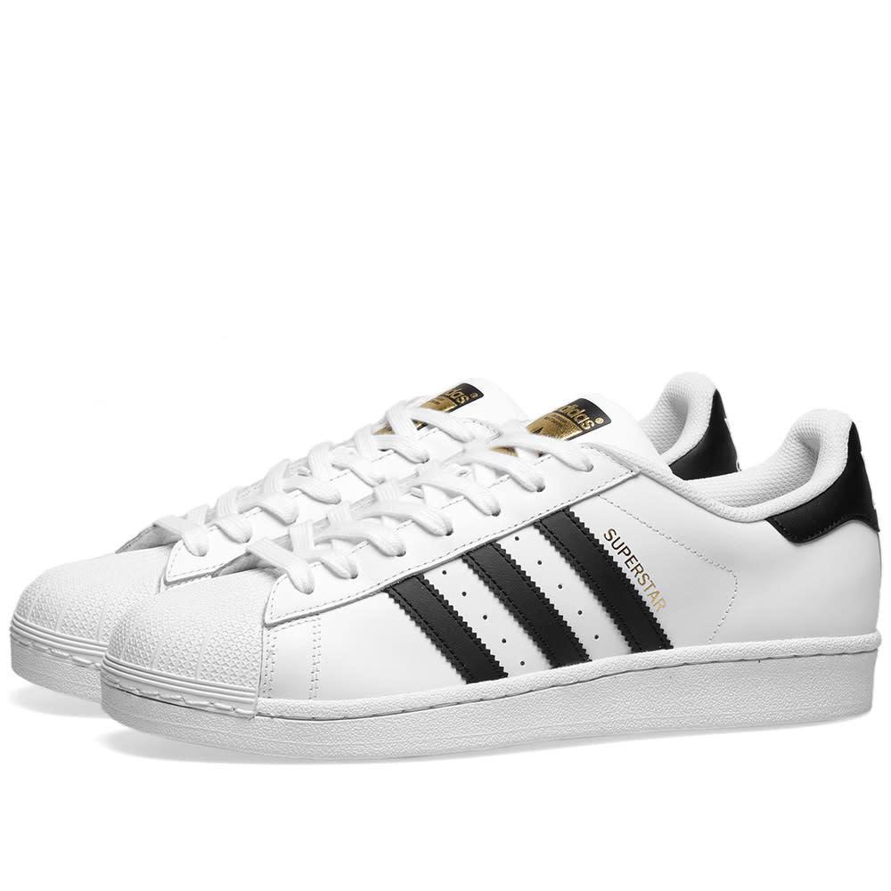 Photo: Adidas Superstar White & Black