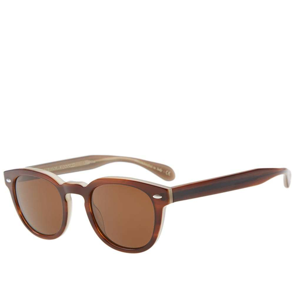 Oliver Peoples Sheldrake Sunglasses Brown