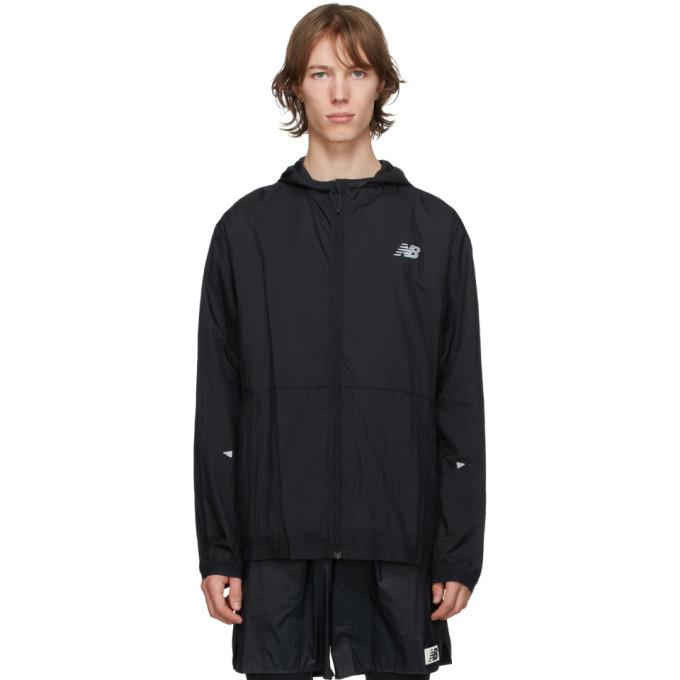 Photo: New Balance Black Impact Run Light Pack Jacket