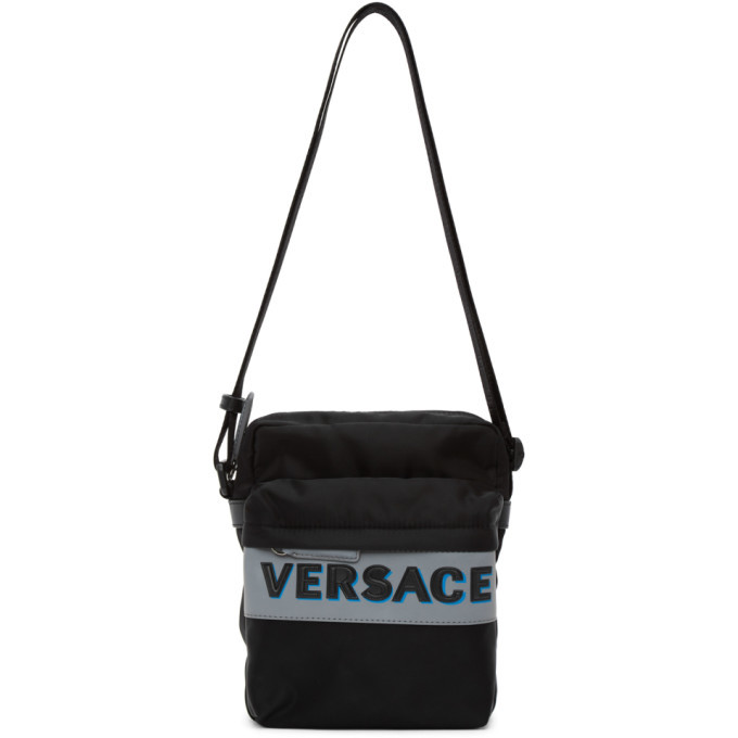 Photo: Versace Black Olimpo Crossbody Bag