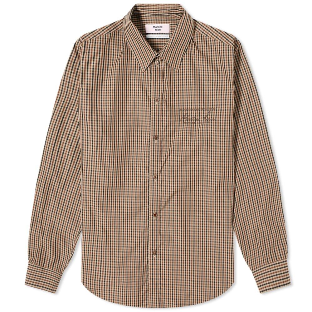 Martine Rose Long Sleeve Button Down Shirt