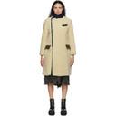 Sacai Beige Wool Suiting Coat