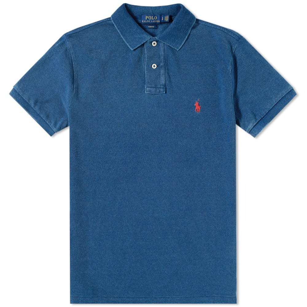 6644e39ade5a Polo Ralph Lauren Washed Indigo Polo Blue Polo Ralph Lauren