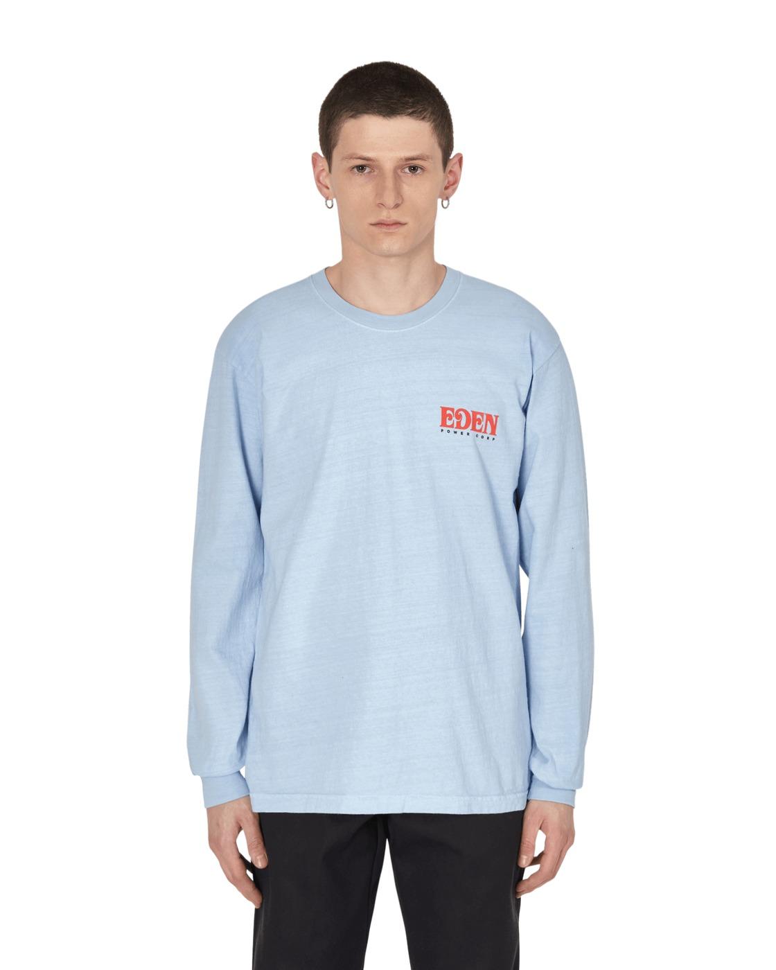 Eden Power Corp Eden Recycled Longsleeve T Shirt Light Grey