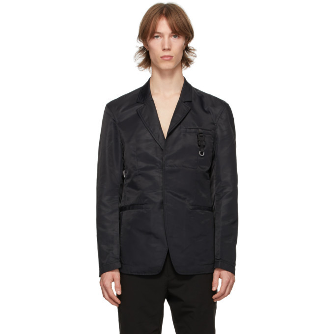 Photo: 1017 ALYX 9SM Black Nylon Classic Blazer