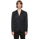 1017 ALYX 9SM Black Nylon Classic Blazer