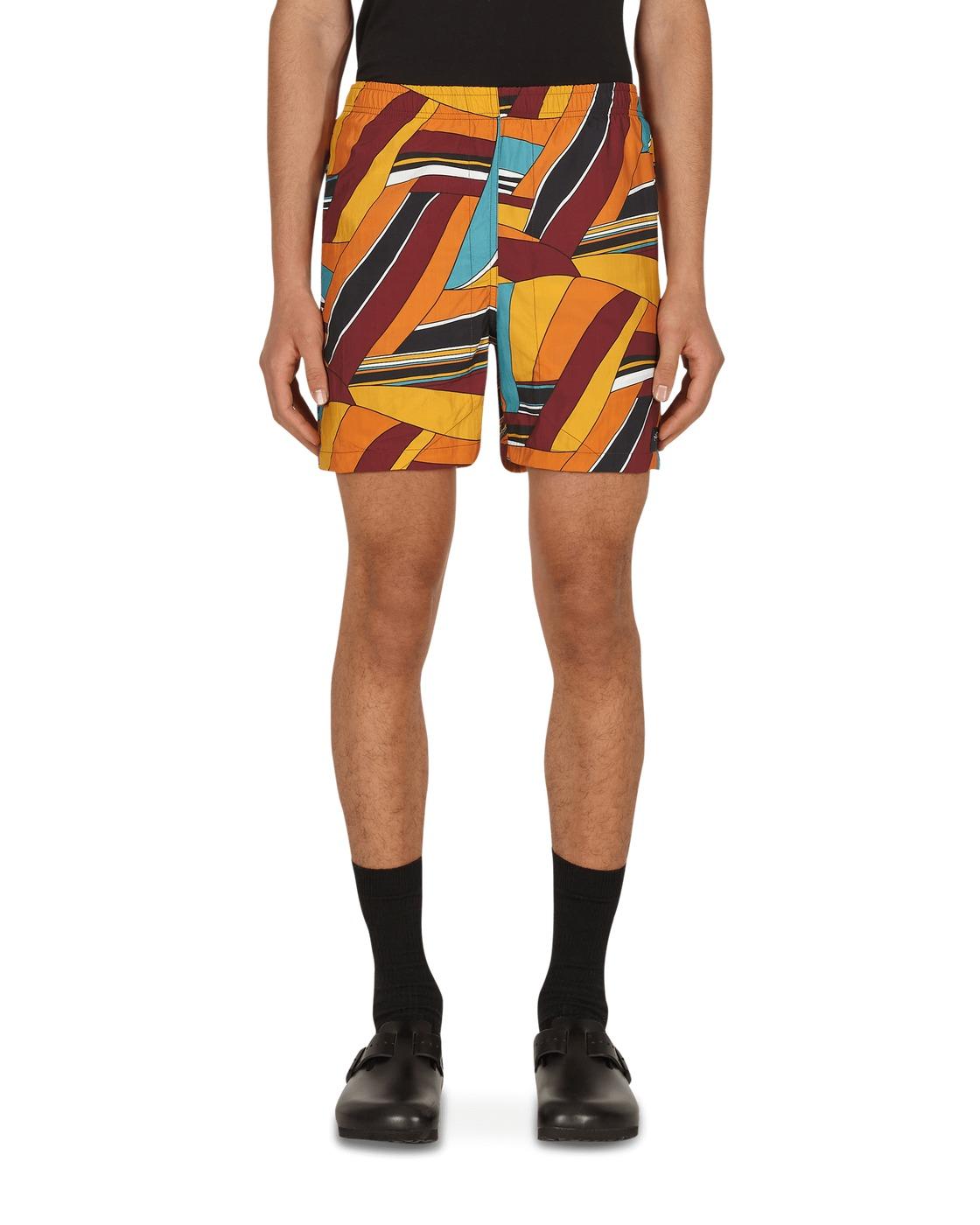 Photo: Noah Abstract Swim Shorts Abstract Print