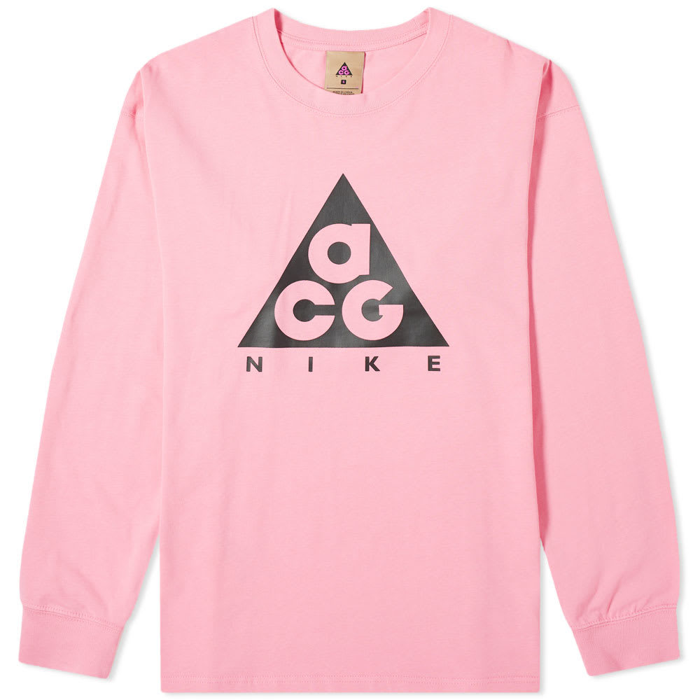 Photo: Nike Long Sleeve ACG Logo Tee