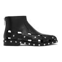 3.1 Phillip Lim Black Studded Cut-Out Alexa Boots