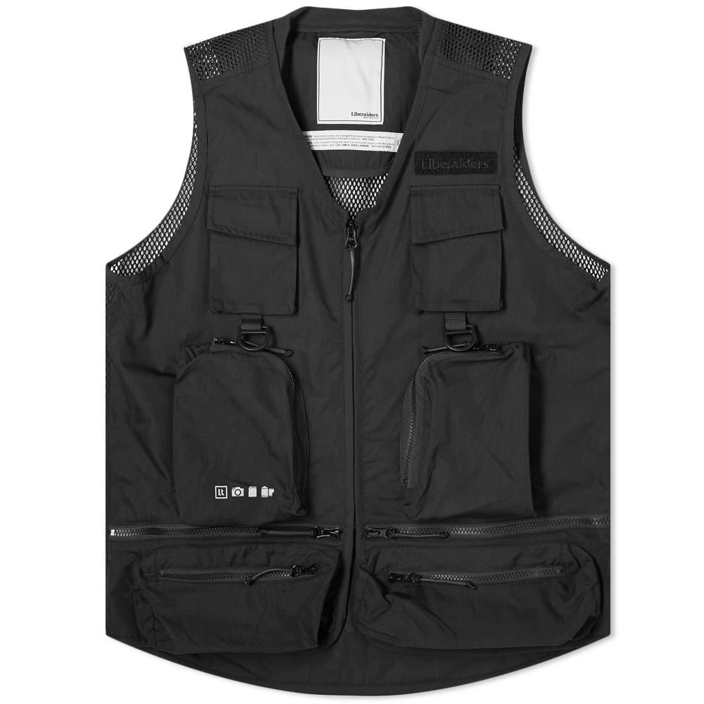 Photo: Liberaiders Camo Vest Black