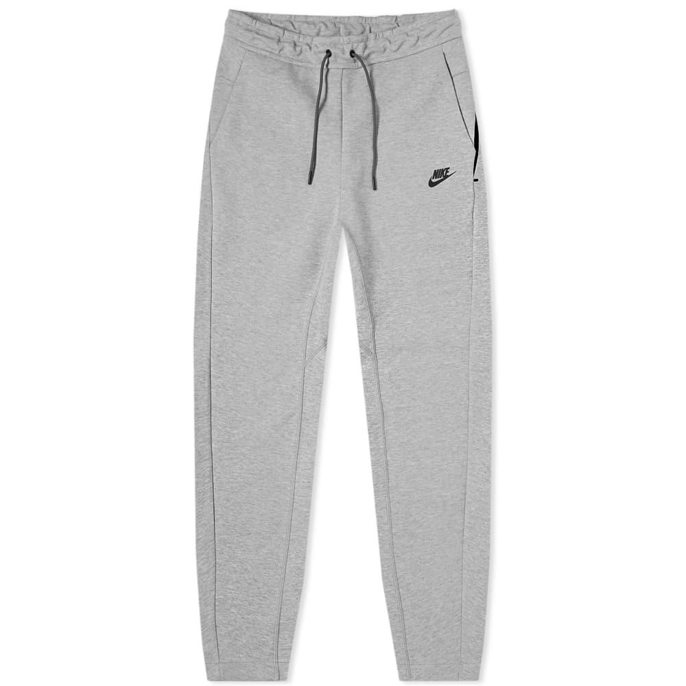 Photo: Nike Tech Fleece Pant Dark Grey Heather & Black