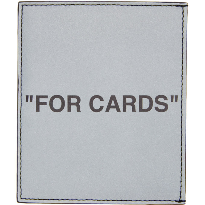 Photo: Off-White Silver Quote Card Holder