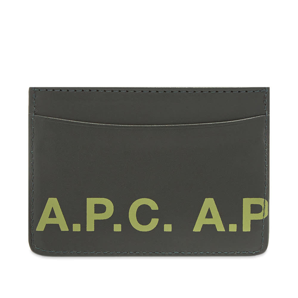 Photo: A.P.C. Logo Card Holder
