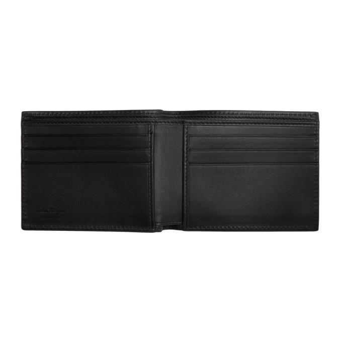 Salvatore Ferragamo Black Giancini Wallet