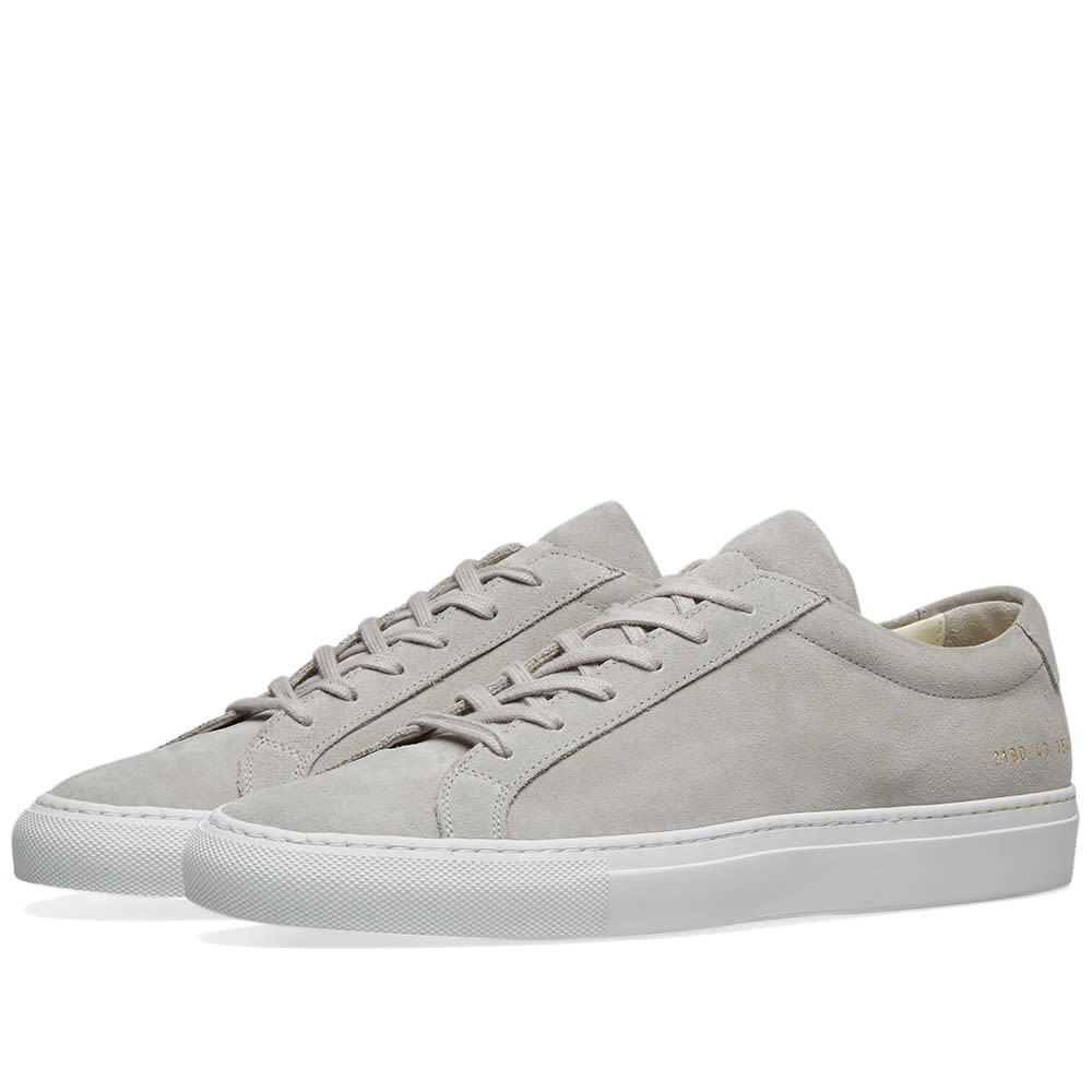 Photo: Common Projects Original Achilles Low Suede Grey