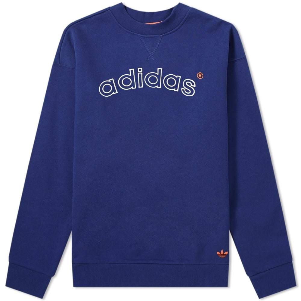 Photo: Adidas 90's Archive Arch Logo Crew Sweat