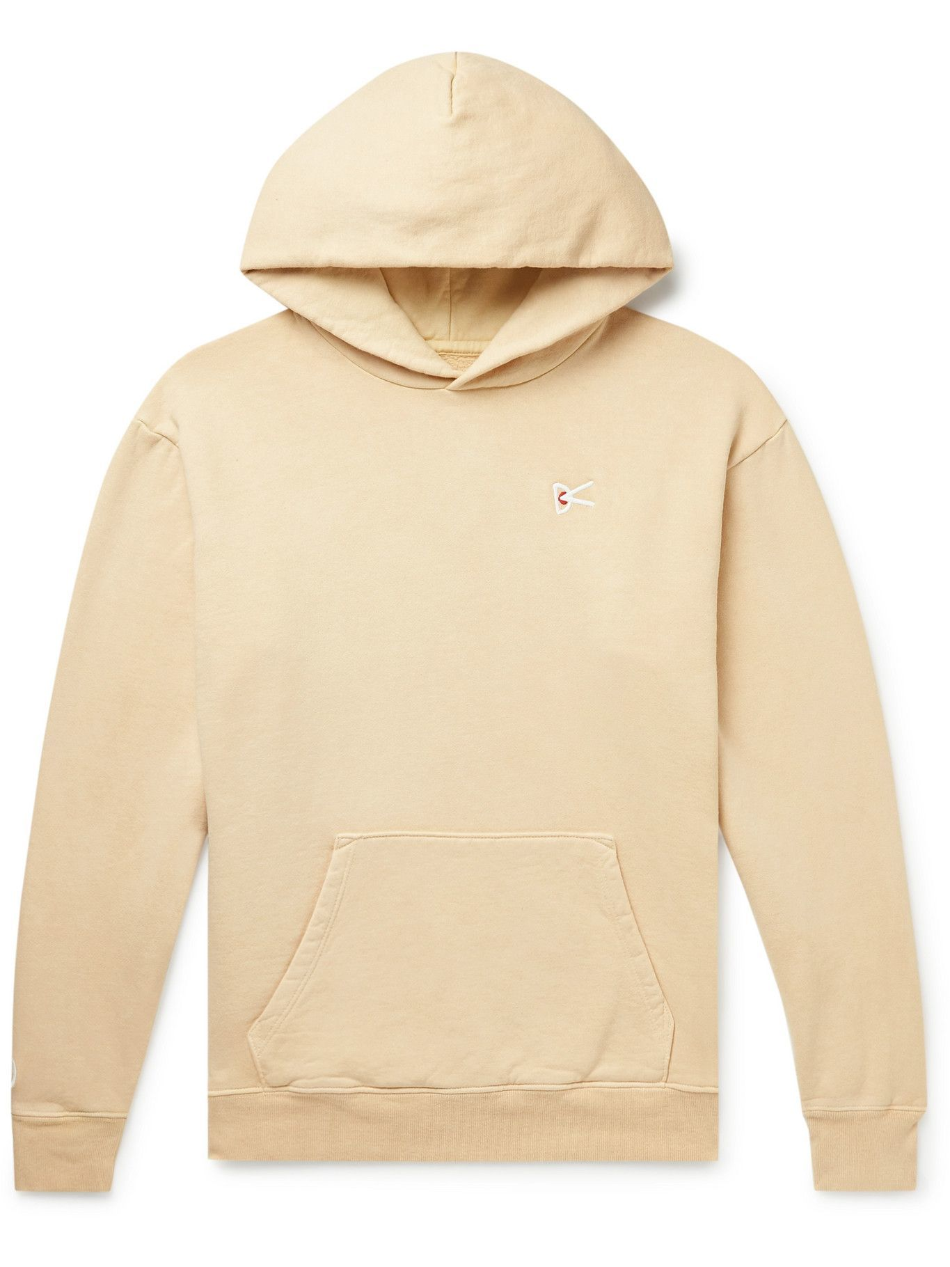 Photo: District Vision - MR PORTER Health In Mind Mudita Recycled Cotton-Blend Jersey Hoodie - Yellow