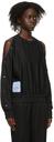 MCQ Black Popper Sweatshirt