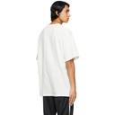 Raf Simons Off-White Beaded Chain T-Shirt