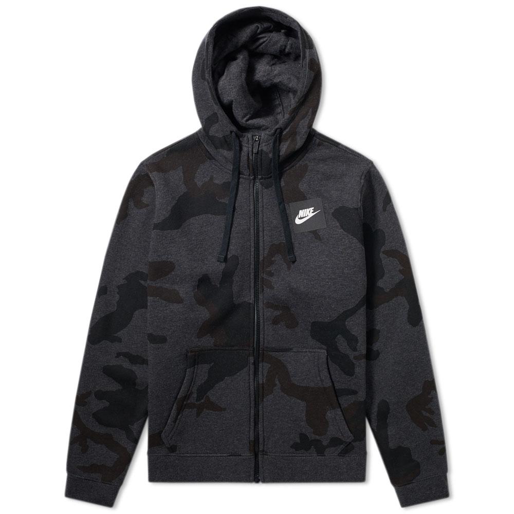 Nike AOP Club Zip Hoody