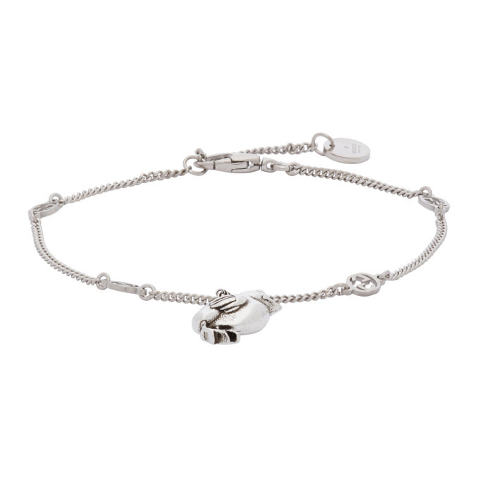 Photo: Gucci Silver Chick Bracelet