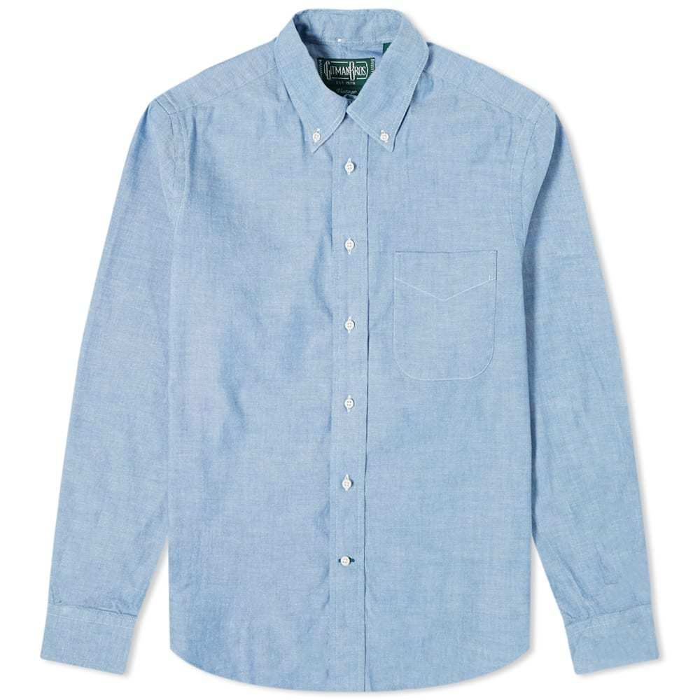 Photo: Gitman Vintage Button Down Summer Chambray Shirt