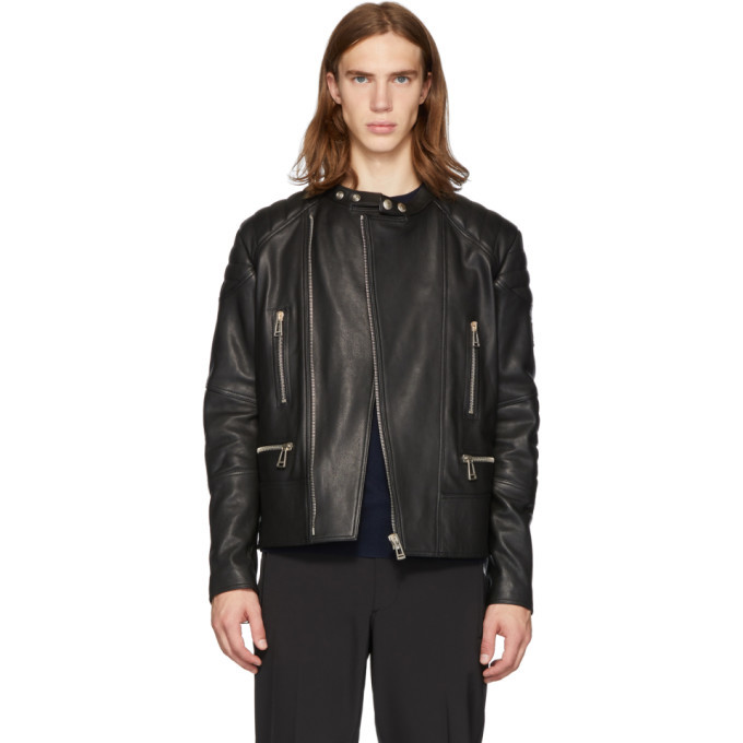 Photo: Belstaff Black Sidney Jacket