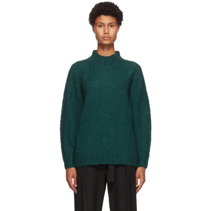 Photo: 3.1 Phillip Lim Green Alpaca Sweater