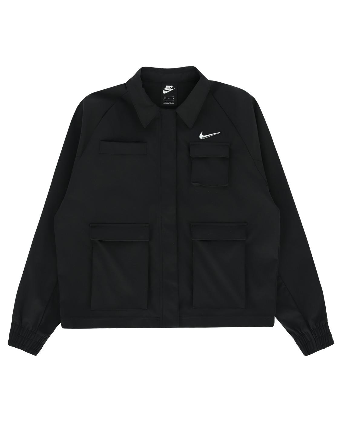 Photo: Nike Swoosh Woven Jacket Black
