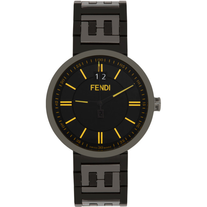 Photo: Fendi Black Forever Fendi Watch