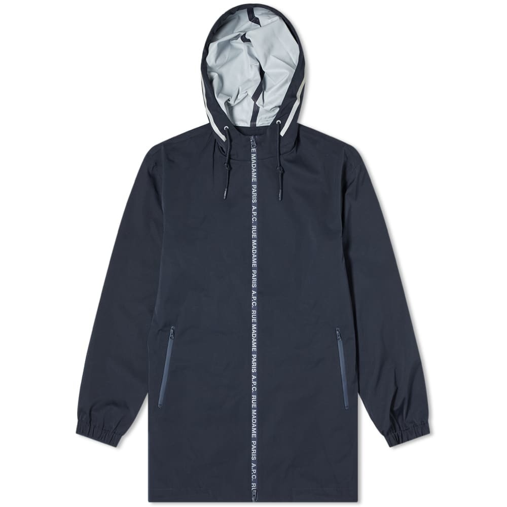 Photo: A.P.C. Philip Taped Logo Tech Parka
