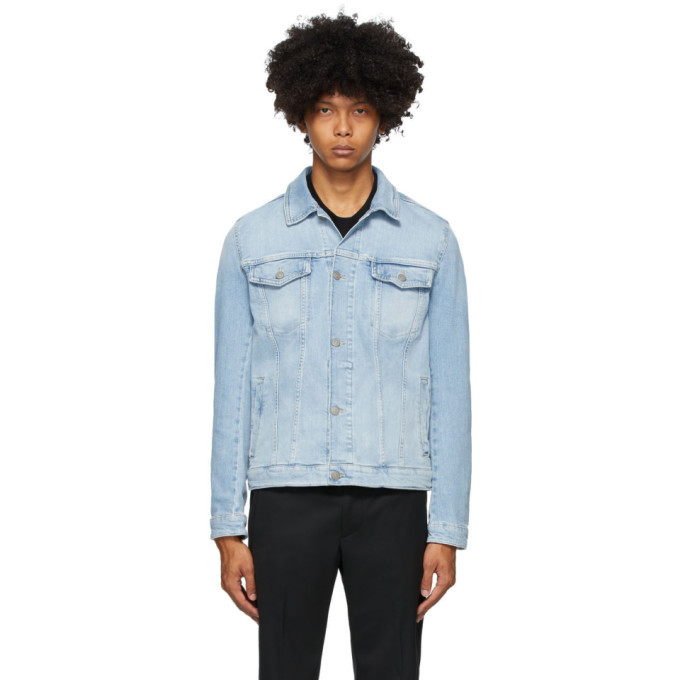 Photo: Boss Blue Denim Pastel Jacket