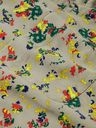 Sacai - Camp-Collar Velvet-Trimmed Floral-Print Cotton-Corduroy Shirt - Green