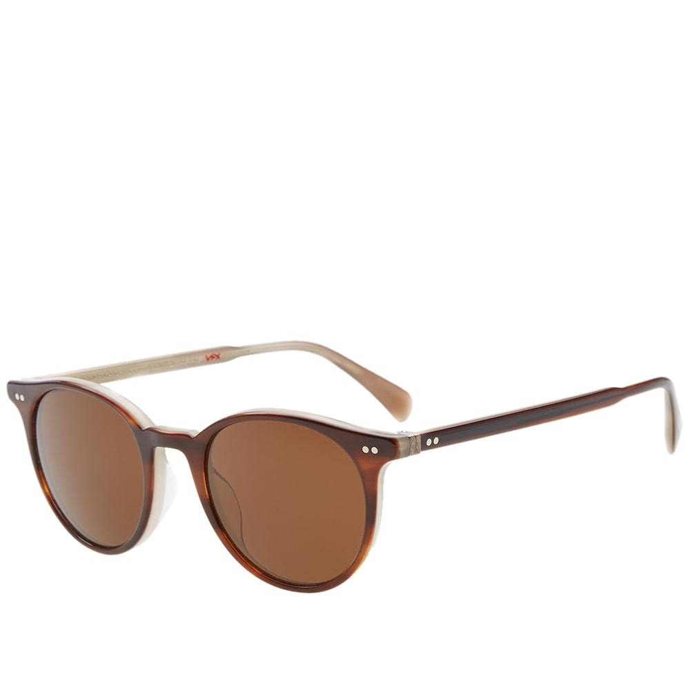 Oliver Peoples Delray Sunglasses Brown
