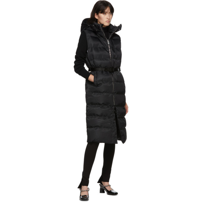 1017 ALYX 9SM Black Long Puffer Vest