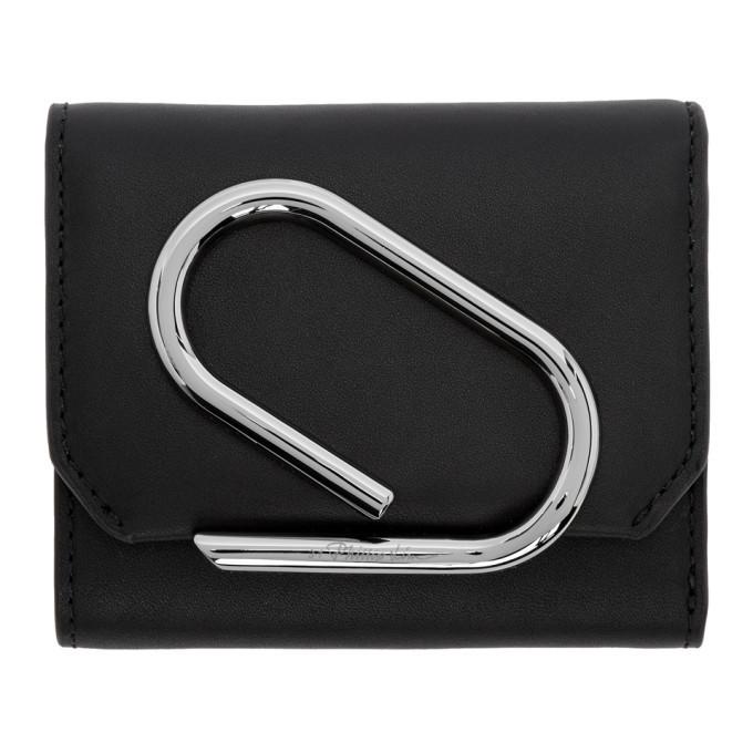 3.1 Phillip Lim SSENSE Exclusive Black Small Alix Flap Wallet