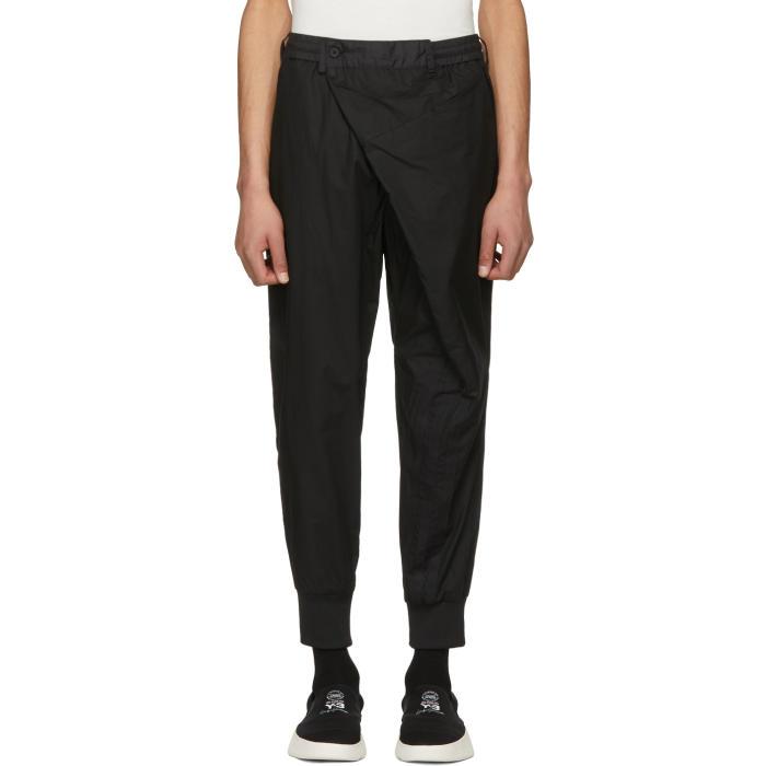 Y-3 Black Poplin Trousers