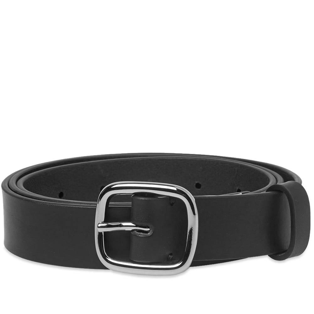 Photo: Comme des Garcons SHIRT Classic Leather Belt Black