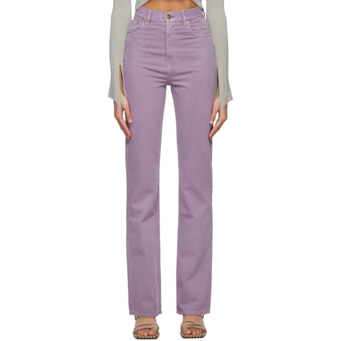 Photo: Jacquemus Purple Le de Nimes Jeans