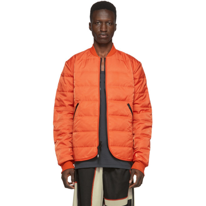 Photo: Y-3 Orange Padded Liner Jacket