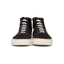 Common Projects Black Suede Skate Mid Sneakers