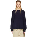 Acne Studios Navy Wool Deniz Sweater