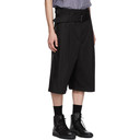 3.1 Phillip Lim Black Wide Shorts