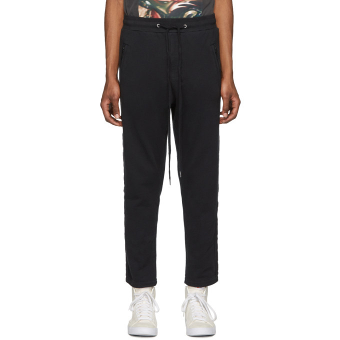 Ksubi Black Eclipse Sweatpants