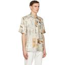 Stella McCartney Multicolor Yoshitomo Nara Edition Silk Print Ricky Short Sleeve Shirt