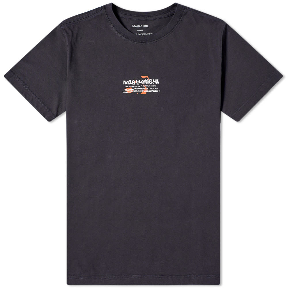 Photo: Maharishi Miltype Tee