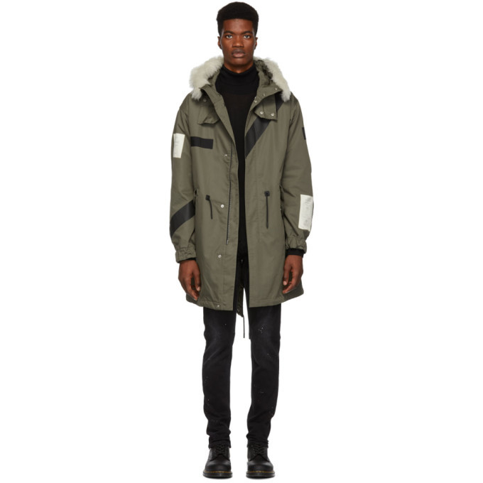 Photo: Belstaff Green Burfield Parka