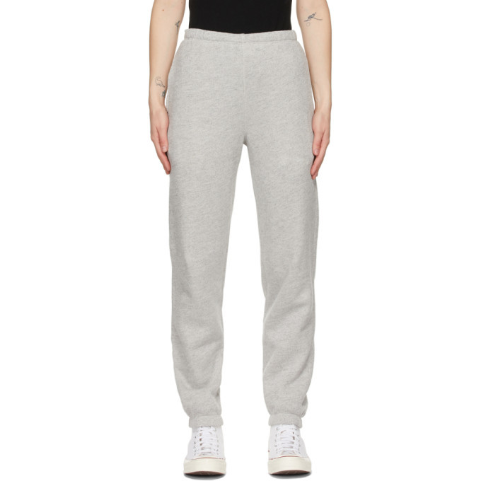 Photo: Re/Done Grey Hanes Edition 80s Lounge Pants